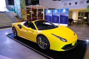 Ferrari Jakarta host the Ferrari 488 Spider Media Launch on September 21, 2016 in Jakarta, Indonesia