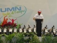 Direktur Utama Askrindo memberikan kuliah umum di hadapan 1.000 mahasiswa Universitas Airlangga