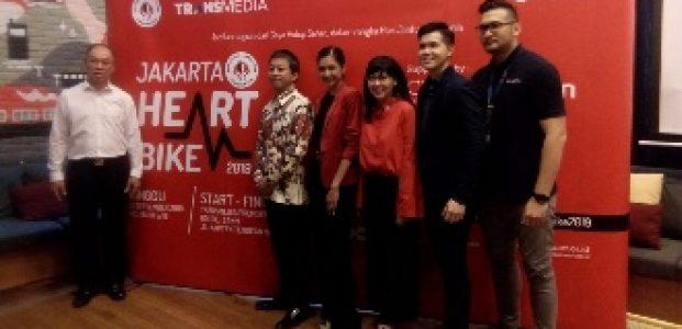 Sambut Hari Jantung Sedunia, YJI Adakan Funbike Serentak di Empat Kota Indonesia