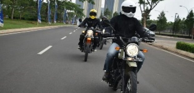 Hadirkan Performa di Jalan Raya, KMI Test Ride W175TR