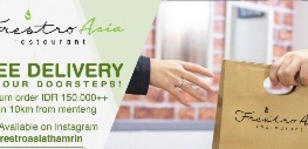 Frestro Asia Restaurant Luncurkan Program Free Delivery
