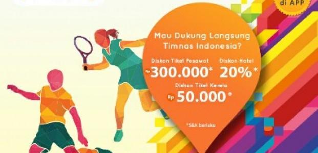 """Meriahkan Asean Games 2018, Pegipegi Hadirkan Program """"Jelajahi Indonesiamu"""""""