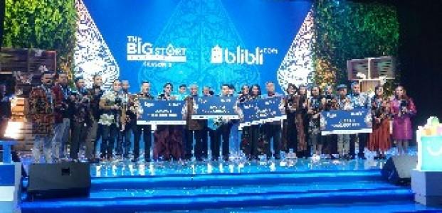 Pengusaha Kreatif Muda dari Subang  Raih Juara Pertama The Big Start Indonesia Season 3