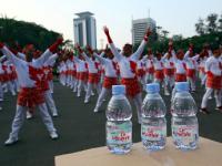 Le Minerale Dukung Senam Poco-poco Nusantara Raih Rekor Dunia Guinness World Records 2018