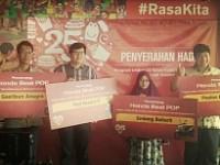 """Mc Donald's Indonesia Serahkan Grand Prize Program """"Untuk 15 tahun Momen Kebersaman Kita"""""""