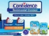 CONFIDENCE Testimonial Contest, Hadiah Menarik Partisipasi Cukup Tinggi