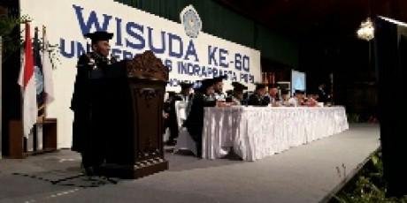 Wisuda ke-60 Unindra Jadikan Lulusan Yang Bermartabat