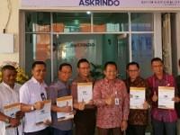 Anak Perusahaan PT Askrindo, Resmikan 5 Kantor Agency Pemasaran