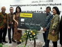 Maybank Luncurkan Kartu Debit Berlogo Nasional