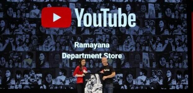 Ramayana Department Store Raih Penghargaan YouTube Ads Leaderboard Awards