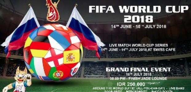 Gema Sepakbola, Swiss-Belresidences Kalibata Ajak Nobar FIFA World Cup 2018