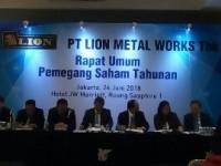 PT Lion Metal Work Bertekad Tingkatkan Laba di Banding 2017