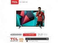 TCL Berikan Diskon di TCL Brand Day Lazada!