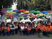 Kampung BUMN Meriahkan Pagelaran Nobar Piala Dunia 2018
