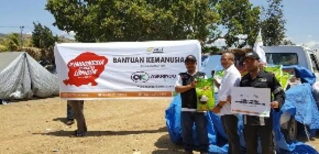 Askrindo Syariah Salurkan Bantuan Ke Korban Gempa Lombok
