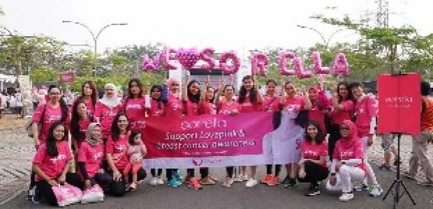 Komunitas Love Pink dan Sorella Gencar Kampanyekan Pengetahuan Kanker Payudara