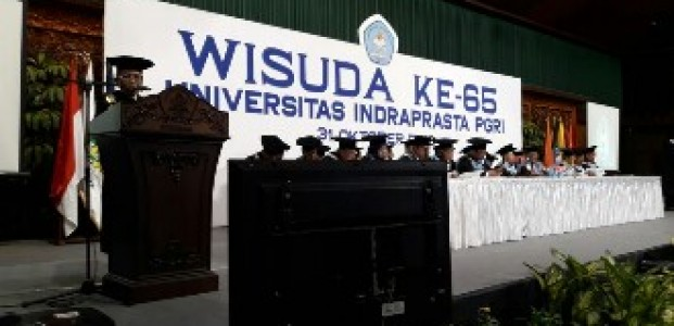 Unindra Menggelar Wisuda Ke-65