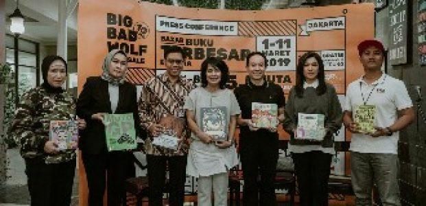 Mendorong Minat Baca, Bazar Buku Big Bad Wolf Jakarta 2019 Siapkan 5,5 Juta Buku