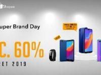 Siap-siap! HONOR Tawarkan Diskon Besar-besaran di Shopee Super Brand Day 26-28 Maret 2019