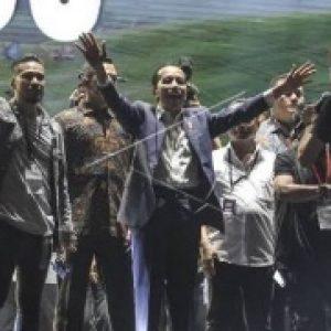 Jokowi Hadir, Konser Musik Untuk Republik Semakin Meriah