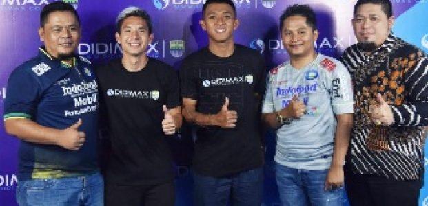 Didimax Sponsori Persib Bandung Di Liga Pertama 2020
