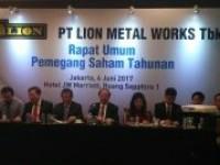 2016, PT Lion Meral Works Tbk Bukukan Penjualan Rp 379,14 Milyar