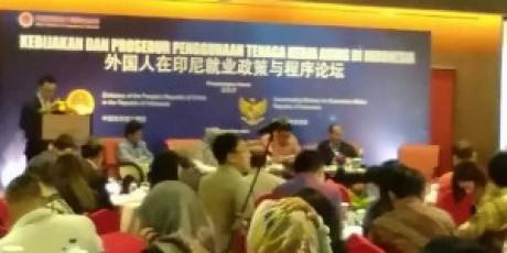 Kedubes China Gelar Seminar Tenaga Kerja