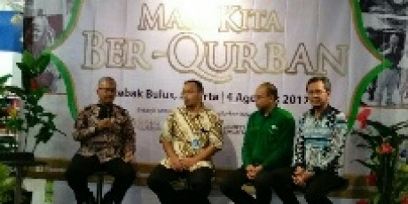 Tiga Lembaga Kemanusian Bersinergi Dengan PT Trans Retail Indonesia Gelar Qurban Festive 2017