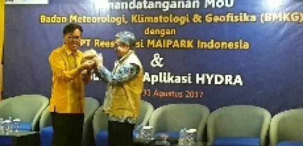 Pantau Data Banjir di Indonesia, PT Reasuransi MAIPARK Luncurkan Aplikasi HYDRA
