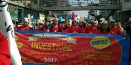 Sambut World Investment Week 2017, BEI Gelar Parade Jalan Santai