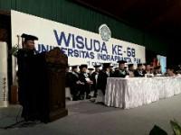 Unindra PGRI Kembali Gelar Wisuda Sarjana ke-58