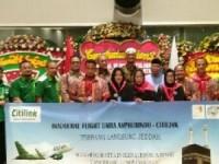 Asphurindo Lepas Keberangkatan Umrah Dengan Pesawat Airbus A320 Neo
