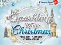 Sambut Natal Dan Tahun Baru,Emporium Pluit Mall AdakanSparkling White Christmas