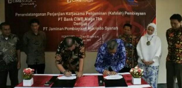 Askrindo Syariah dan Bank CIMB Niaga Syariah Teken Perjanjian Kerjasama