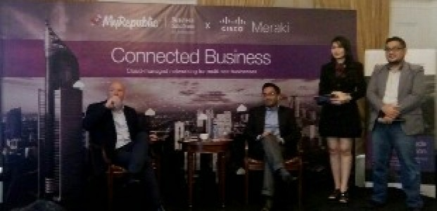 MyRepublic Gandeng CISCO Meraki Luncurkan MyRepublic Connected Business