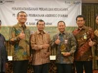 Askrindo Syariah Bidik Potensi Ujroh 5-8 Miliyar Perbulan Dari Bank Aceh Syariah