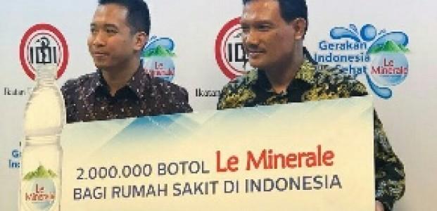 Le Minerale Bersama IDI Edukasi Pentingnya Mineral Bagi Kesehatan