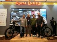Hadir Pertama Kali di IMOS 2018, Royal Enfield Tampilkan SG-411 Himalayan