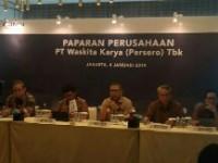Waskita Karya Catat Lonjakan Laba Bersih 8%