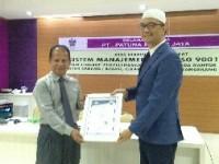 Tingkatkan Mutu, Patuna Mekar Jaya Raih Sertifikasi ISO 9001:2015