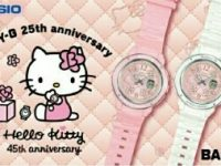 Casio Luncurkan Model Kolaborasi BABY-G × Hello Kitty Pink Quilt Series