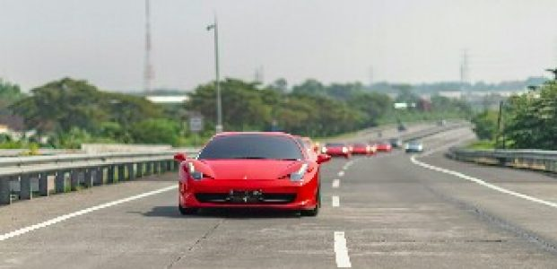 Ferrari Portofino Kunjungi Palladian Mansion Kaliandra