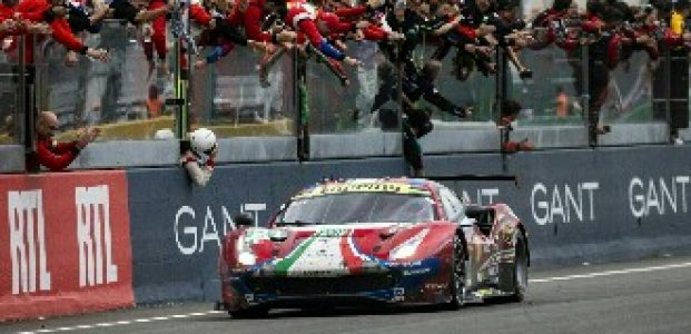 Ferrari Memenangkan Balapan 24 Jam Le Mans
