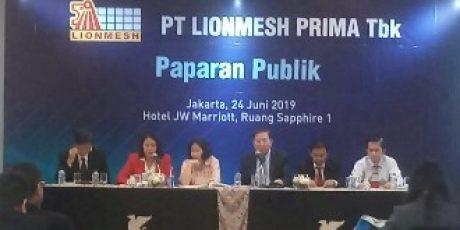 Di Tahun Lalu, PT LIONMESH PRIMA Catat Laba Rp2,89 Miliar