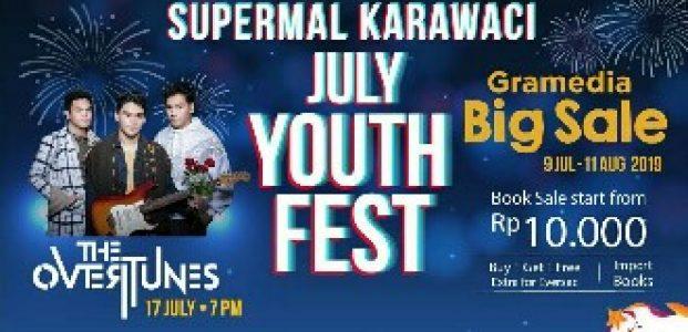 "Supermal Karawaci Sambut ""July Youth Festival"" Diiringi The Overtunes dan Monita Tahalea"