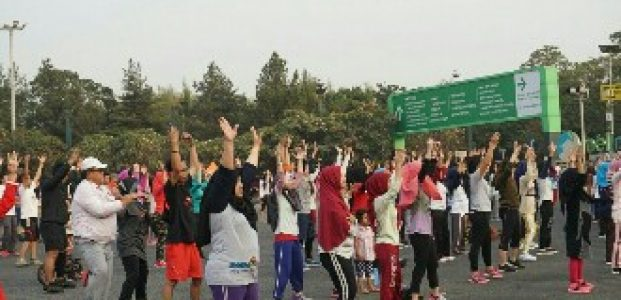 Car Free Day Kota Harapan Indah Tampil Meriah Bersama Damai Putra Group