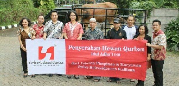 Swiss-Belresidences Kalibata Jakarta Realisasikan Program CSR Idul Adha 1440 H