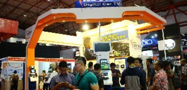 Asuka Car TV Suguhkan Produk Terbaru di IIMS