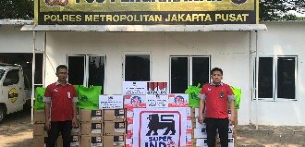Jelang Idul Fitri Super Indo Salurkan Bantuan Untuk Satgas Keamanan Jakarta