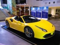 Tampilan Ferrari 488 Spider Pertama di Indonesia